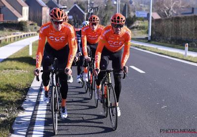 L'équipe CCC à la CRO Race : Serge Pauwels et Victor de la Parte sont sélectionnés