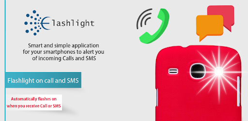 Flash alerts on Call and SMS for PC