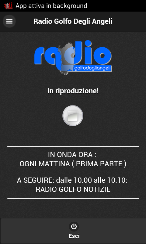Radio Golfo Degli Angeli- screenshot