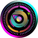 CYBERNEON Analog Clock Widget icon