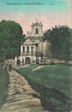 Photo: 1. Pocztówka z Brzozdowiec. Kościół ok. 1915. Wyd. Saul Berek. Postcard from Brzozdowce ca. 1915, ed. by Saul Berek.