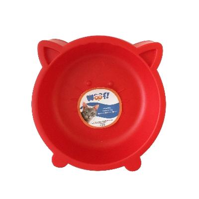 accesorio para mascotas woof comedero redondo gato colores surtidos