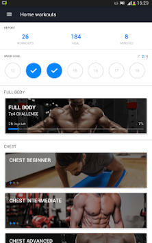 Home Workout - No Equipment APK screenshot thumbnail 8