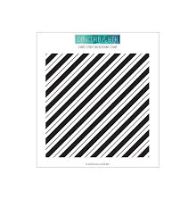 Concord & 9th Clear Stamps 6X6 - Candy Stripe Background