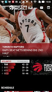 Raptors Mobile screenshot 1