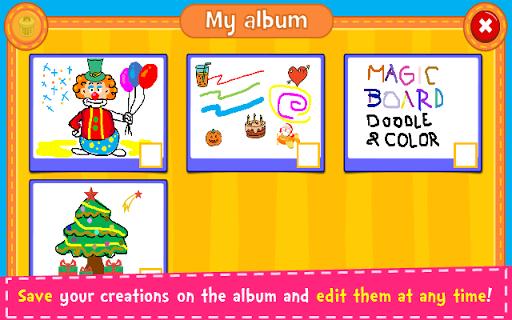 Magic Board - Doodle & Color 1.35 screenshots 21