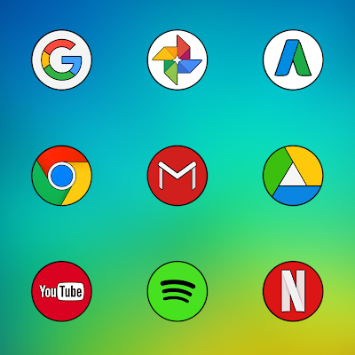 MI COLOR ICON PACK HD Screenshot Image