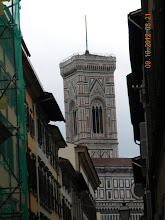 Photo: Tower of the Florence Cathedral (The Basilica di Santa Maria del Fiore)