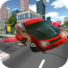 Flying Car Simulator 2017 icon