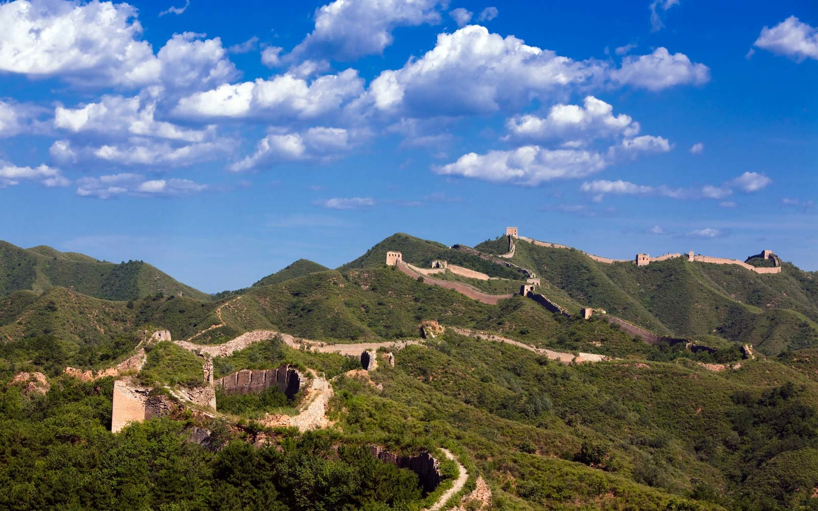 The Great Wall... Probably the first place you should go once you get your Chinese visa.