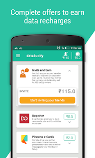 Databuddy: Free Data & Paytm cash- screenshot thumbnail