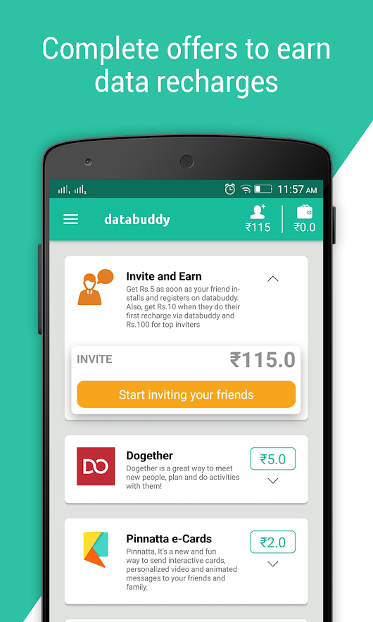 Databuddy: Free Data & Paytm cash