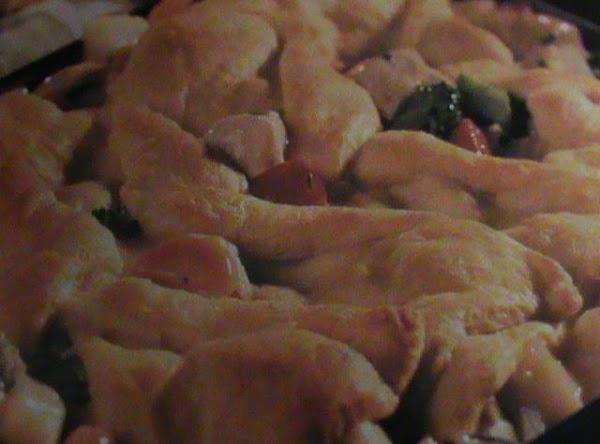 Turkey Vegetable Crescent Casserole Recipe