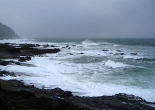 Photo: Oregon eyaleti batı kıyısı hep kayalık!