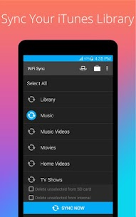 iSyncr: iTunes to Android Apk 3