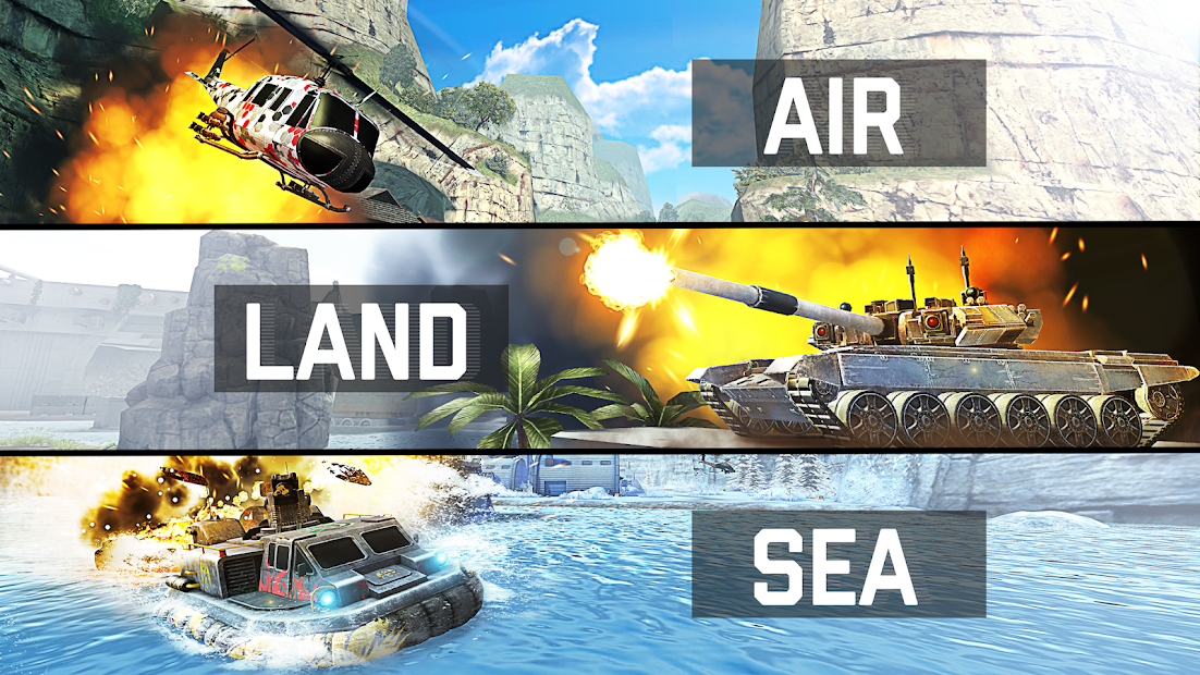 Massive Warfare: Aftermath - Free Tank Game Android App Screenshot