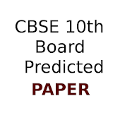 CBSE 10 Board Predicted Paper