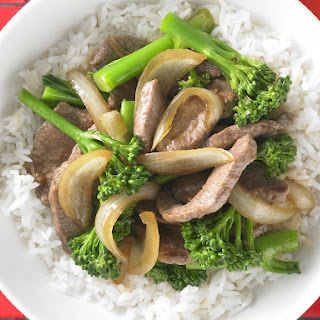 Lamb and Broccoli Stir Fry
