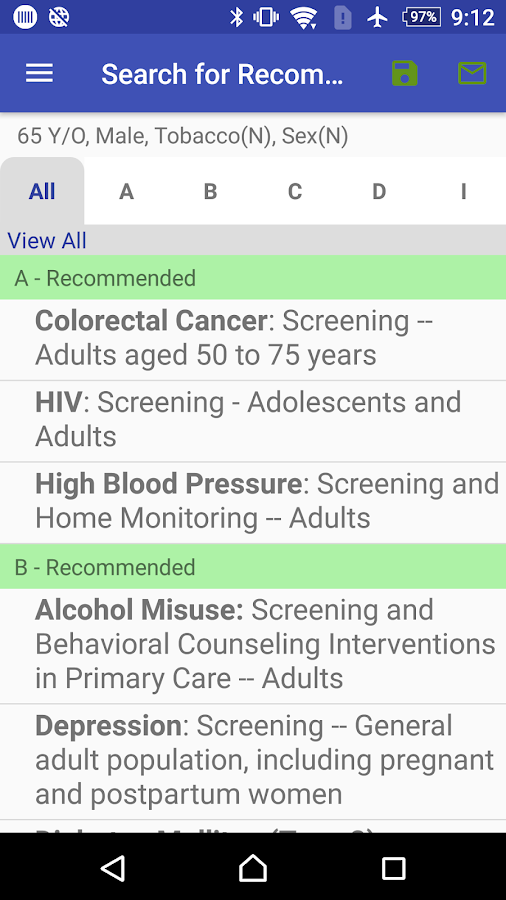 AHRQ ePSS- screenshot