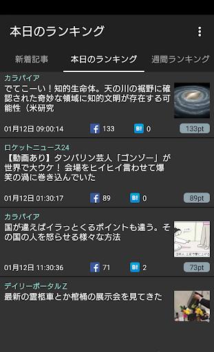 無料新闻Appのまとめブログリーダー 2chまとめ ニュースアプリ|記事Game