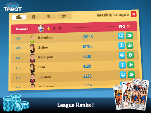 Multiplayer Tarot Game screenshot 9