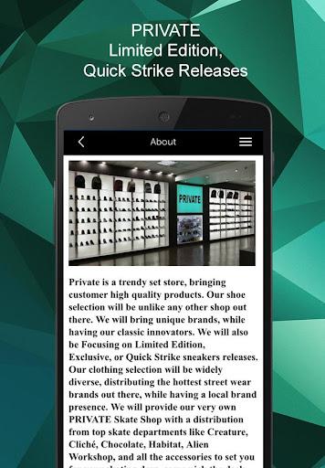 玩免費生產應用APP 下載Private Sneakers app不用錢 硬是要APP