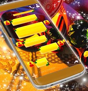 SMS Christmas Theme - náhled
