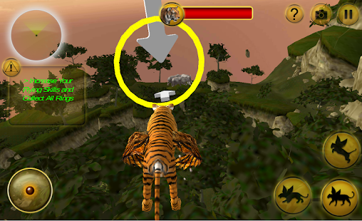 Létající Tiger Wild Simulator - náhled