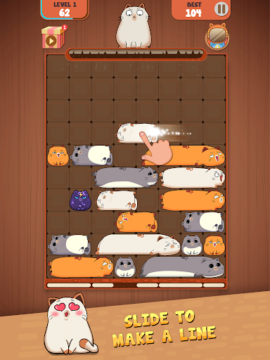 Haru Cats: Slide Block Puzzle filehippodl screenshot 10