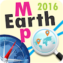 Earth Map 2016 icon