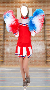 Trending Cheerleaders Fashion Photo Montage - náhled