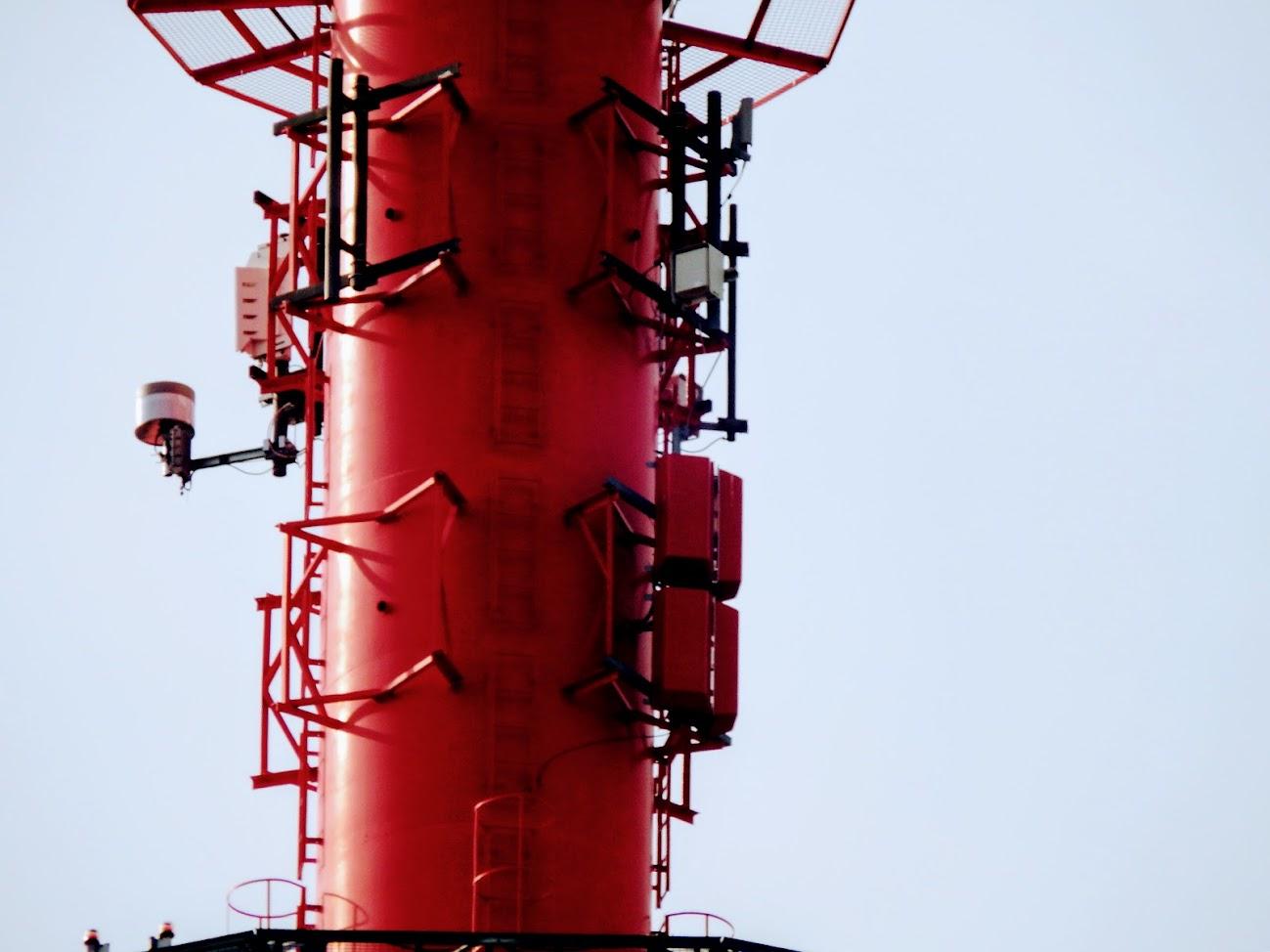 Budapest/Telekom torony, Száva utca - DVB-T gapfiller+T-DAB+ gapfiller
