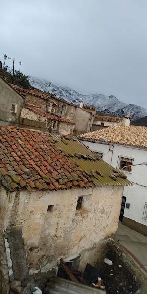 Imagen de Uleila con la sierra al fondo. / Foto: Mª Carmen Pérez
