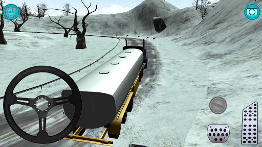 Karlı Yollar TIR 3D