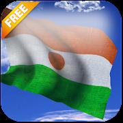 3D Niger Flag Live Wallpaper