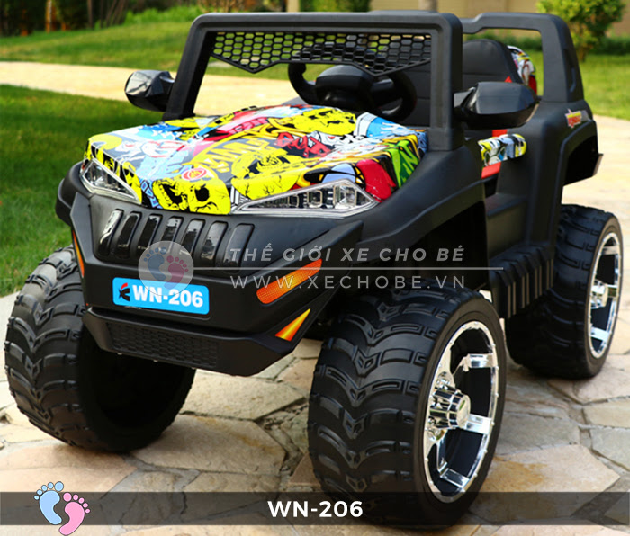 Xe hơi điện địa hình cho bé WN-206 1