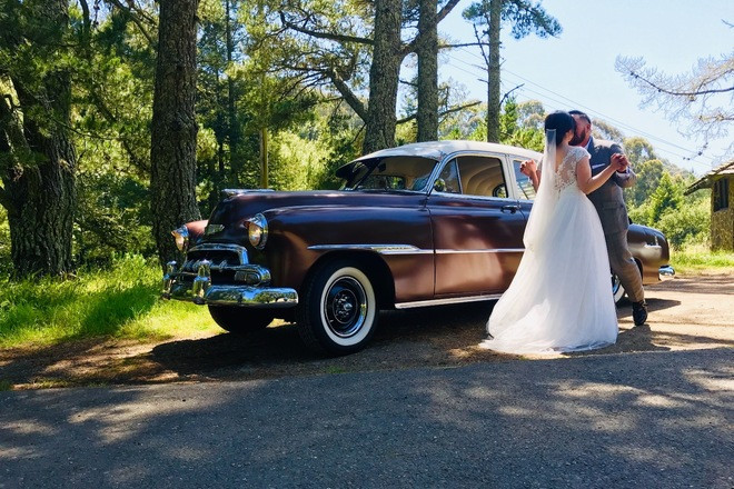 1952 Chevy Styleline Deluxe Hire Menlo Park
