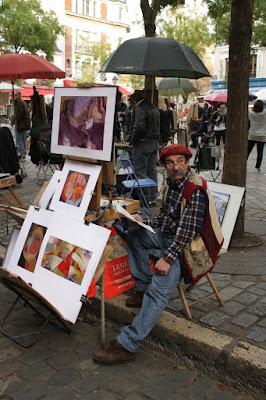 Artista a Montmartre di tclaudia77