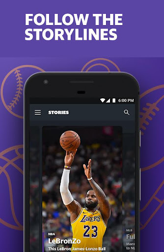 Yahoo Sports - scores, stats, news, & highlights 8.4.0 screenshots 2