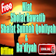 Download Niat Sholat Sunnah Rawatib Qobliyah & Badiyah For PC Windows and Mac