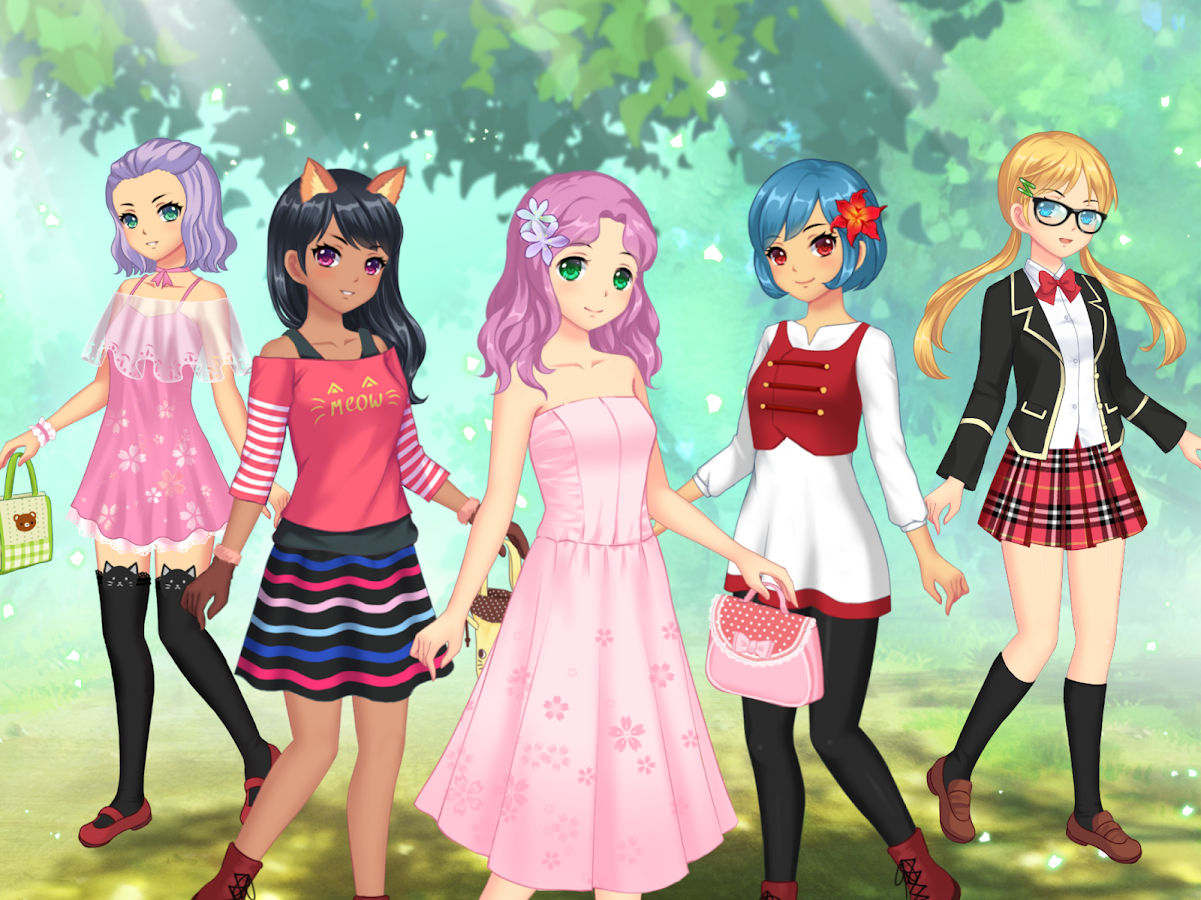 anime dress up games online free