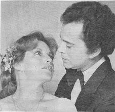 Photo: Maria Isabel Chiri y Alfredo Bouroncle; Obra Celos, de Louis Verreuil; 1985