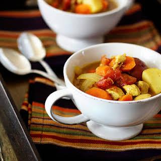 Chicken Curry Stew.