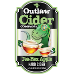 Outlaw Cider Company Tea-Rex Apple Hard Cider