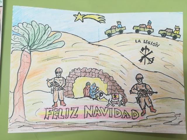 Una de las 860 postales que llegarán a Mali y el Líbano