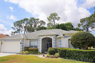 Orlando villa, gated community, close to Disney theme parks, southwest-facing pool, scenic view