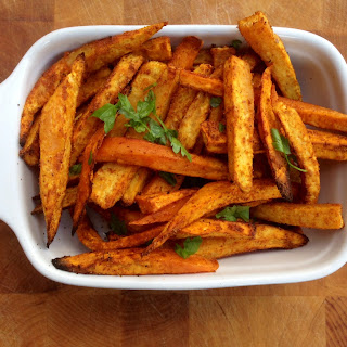 Sweet Potato Oven-Baked Fries