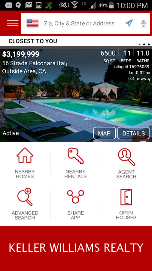 Keller Williams Real Estate- screenshot