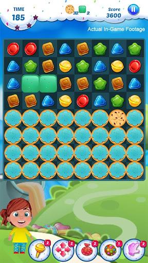 Gummy Candy - Match 3 Game screenshots 5