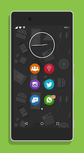 Circle Launcher and Theme